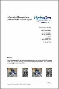 Hydrogen Cover